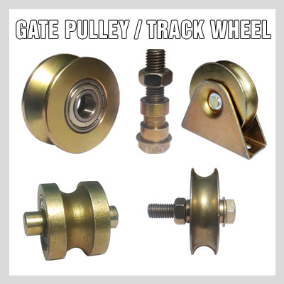 GATE PULLEY / TRACK WHEELS