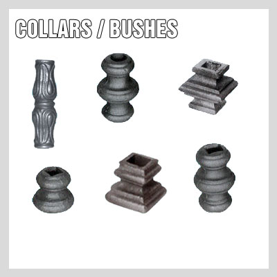 Wrought Iron Collars / Bushes